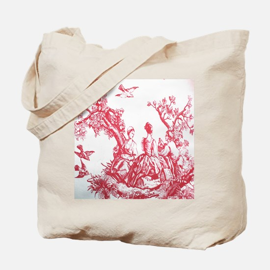 FRENCH TOILE Tote Bag