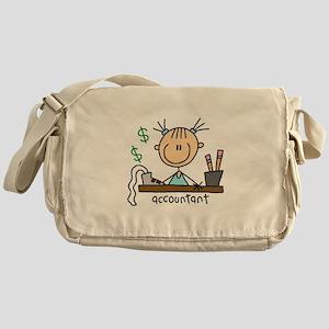 Professions Accountant Messenger Bag