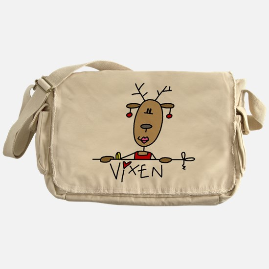 Vixen Reindeer Messenger Bag