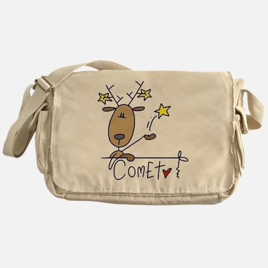 Comet Reindeer Messenger Bag