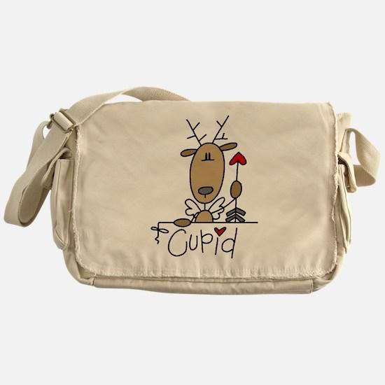 Cupid Reindeer Messenger Bag