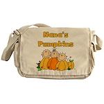 Nana's Pumpkins Messenger Bag