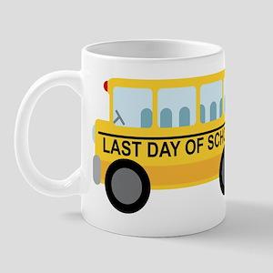 School Bus Last Day of School Mug