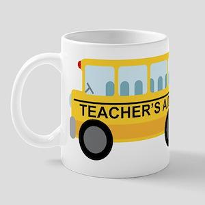 Teacher's Aide School Bus Mug