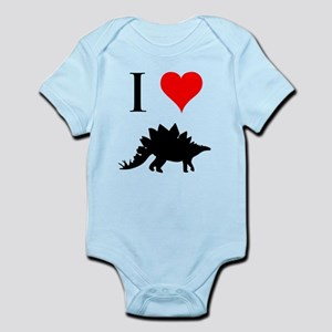 I Love Dinosaurs - Stegosauru Infant Bodysuit