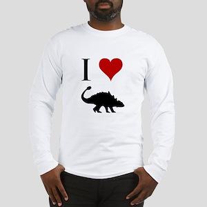 I Love Dinosaurs - Ankylosaur Long Sleeve T-Shirt