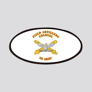 Artillery - Officer - Colonel Patches