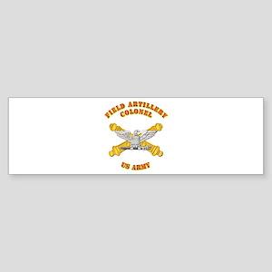 Artillery - Officer - Colonel Sticker (Bumper)
