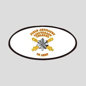Artillery - Officer - LTC Patches