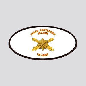 Artillery - Officer - MAJ Patches