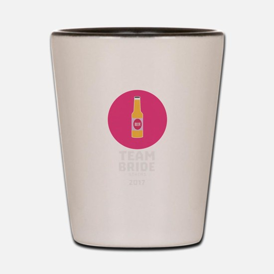 Team bride Athens 2017 Henparty C04h4 Shot Glass