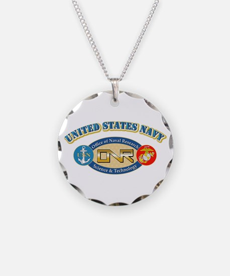 US Navy - Office of Naval Research Necklace