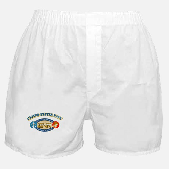 US Navy - Office of Naval Research Boxer Shorts