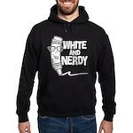 White And Nerdy Hoodie (dark)