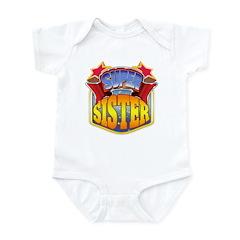 Super Sister Infant Bodysuit