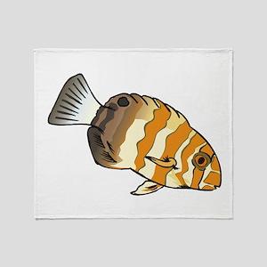 Clown Fish Throw Blanket