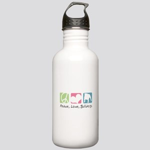 Peace, Love, Bulldogs Stainless Water Bottle 1.0L