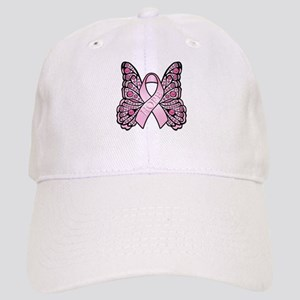 Pink Butterfly Hope Cap