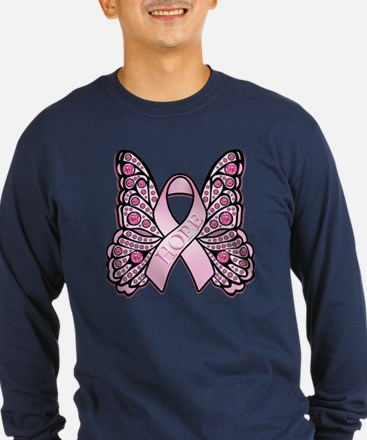 Pink Butterfly Hope T