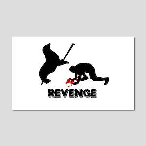 Revenge of the seals Car Magnet 20 x 12
