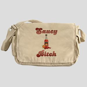 Saucy Bitch Messenger Bag