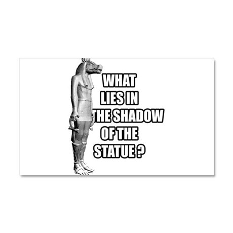 Shadow of the statue Car Magnet 20 x 12