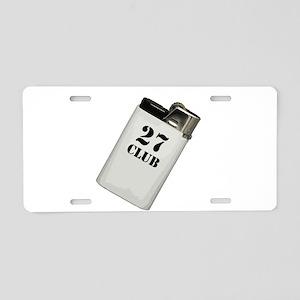 27 club Aluminum License Plate