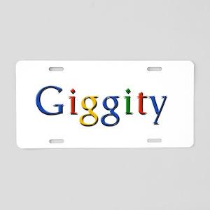 Giggity Giggity Google Aluminum License Plate