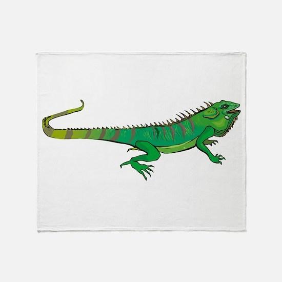Iguana Throw Blanket