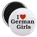 I loves German Girls Magnet