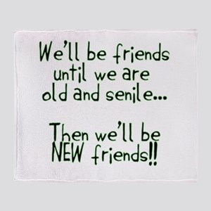 Friends Throw Blanket