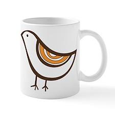Retro brown bird Mug
