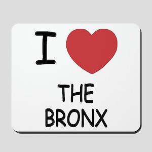 I heart the bronx Mousepad