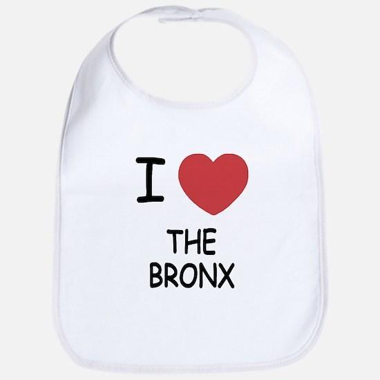 I heart the bronx Bib
