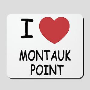 I heart montauk point Mousepad
