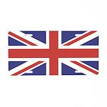 UNION JACK UK BRITISH FLAG Aluminum License Plate