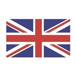UNION JACK UK BRITISH FLAG 38.5 x 24.5 Wall Peel