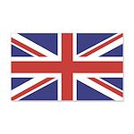UNION JACK UK BRITISH FLAG 22x14 Wall Peel