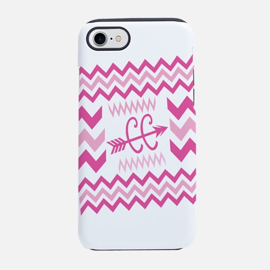 PINKs Cross Country ZigZags iPhone 7 Tough Case