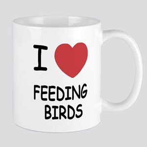 I heart feeding birds Mug