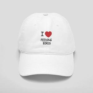 I heart feeding birds Cap