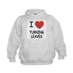 I heart turning leaves Hoodie