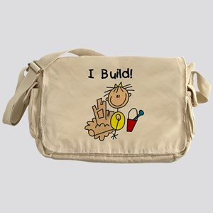 Girl I Build Sand Castles Messenger Bag