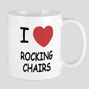 I heart rocking chairs Mug