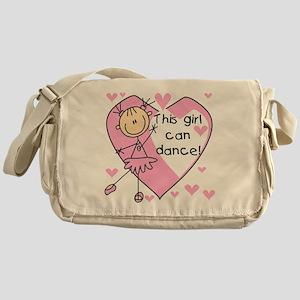 This Girl Can Dance Messenger Bag