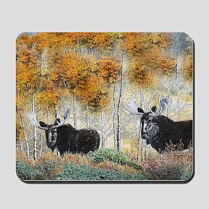 Moose oil 2 Mousepad