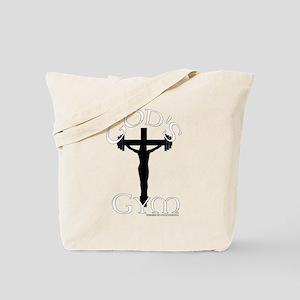 God's Gym Tote Bag