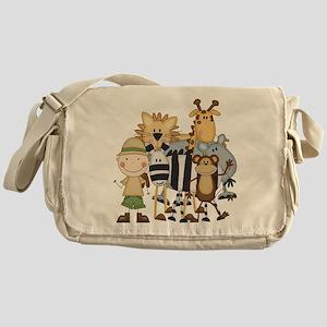 Boy on Safari Messenger Bag