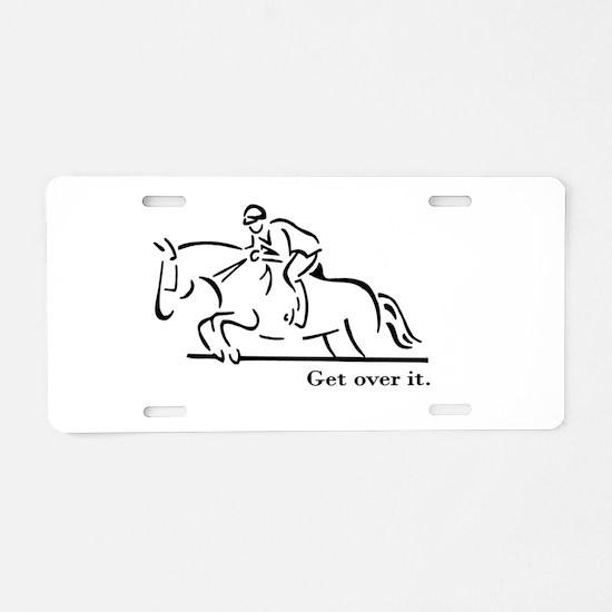 Jumper Aluminum License Plate