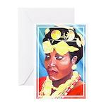 Cote d'Ivorie Paintings Greeting Card